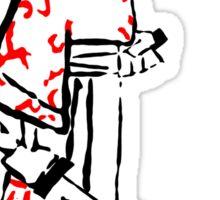 Ink Samurai Sticker
