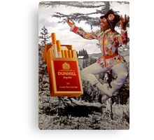Yay! Cigarettes! Canvas Print