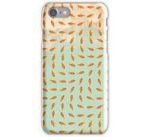 pattern gold fish 01 iPhone Case/Skin