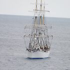 Statsraad Lehmkuhl in coming  by Craig  Meheut