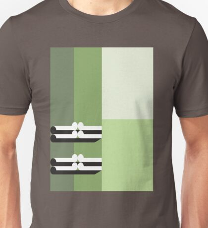 THE GREEN - abstract geometry - plate 1 Unisex T-Shirt