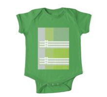GRAPES - abstract geometry - plate 4 One Piece - Short Sleeve