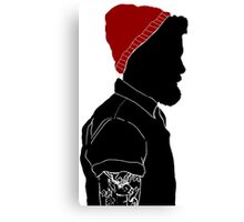 Black Man Canvas Print