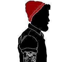 Black Man Photographic Print