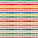 Beaded Stripes by HappyDoodleLand