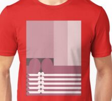 FAMILY TIES   - abstract geometry - plate 10 Unisex T-Shirt