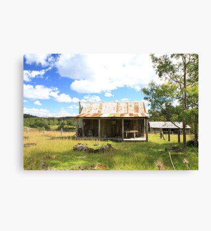 George's hut Canvas Print