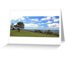George's view Greeting Card