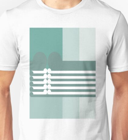 THE ASCENSION - abstract geometry - plate 12 Unisex T-Shirt