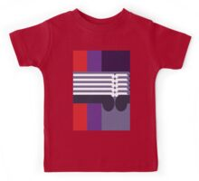 THE MIDDLE WAY - abstract geometry - plate 16 Kids Tee