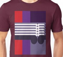 THE MIDDLE WAY - abstract geometry - plate 16 Unisex T-Shirt