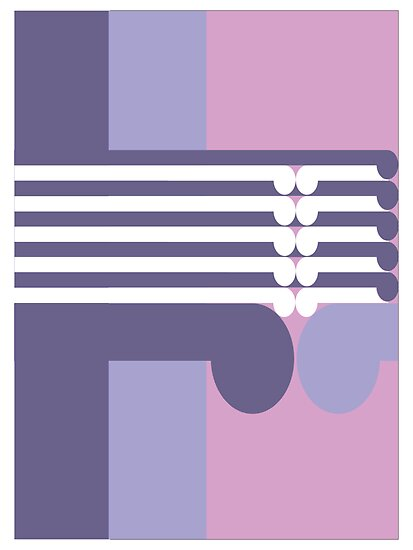 THE MIDDLE WAY  # 3 - abstract geometry - plate 18 by GeoAbstractions