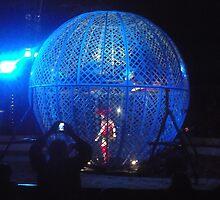 Circus/Motor Cycle Act IIi  -(150413)- Digital photo/FujiFilm AX350 by paulramnora