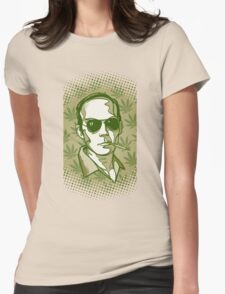Hunter S. Thompson 420 Womens Fitted T-Shirt