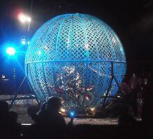 Circus/Motor Cycle Act IV  -(150413)- Digital photo/FujiFilm AX350 by paulramnora