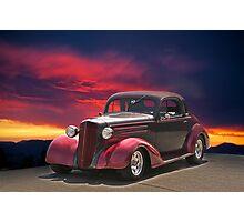 1936 Chevy Coupe II Photographic Print