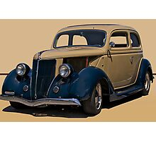1936 Ford Tudor Sedan Photographic Print