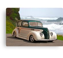 1938 Ford Tudor Sedan Canvas Print