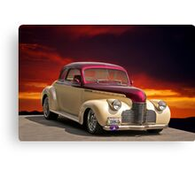 1940 Chevrolet Coupe Canvas Print