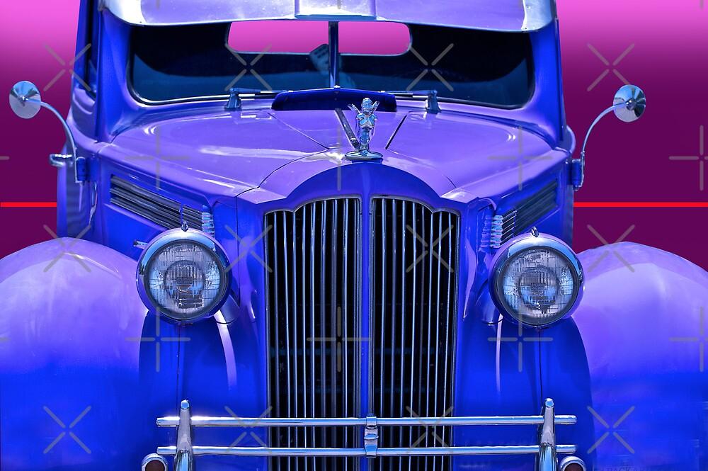 1940 Packard Grill Detail by DaveKoontz