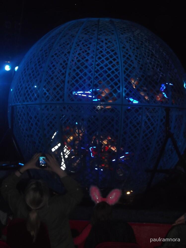 Circus/Motor Cycle Act V  -(150413)- Digital photo/FujiFilm AX350 by paulramnora