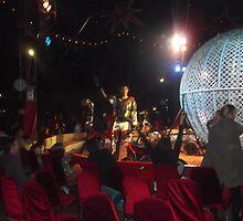 Circus/Motor Cycle Act VII  -(150413)- Digital photo/FujiFilm AX350 by paulramnora