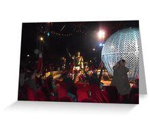 Circus/Motor Cycle Act VII  -(150413)- Digital photo/FujiFilm AX350 Greeting Card