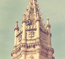 a tower. torre do mosteiro jerónimos by terezadelpilar~ art & architecture