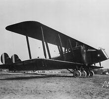 Martin B-2 Bomber by Henri Bersoux