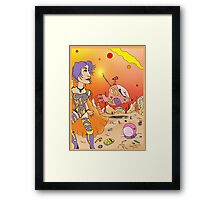 Other days, other Worlds Framed Print