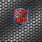 Autobot Symbol - Brushed Metal 1.0 by Jeffery Borchert