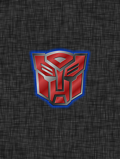 Autobot Symbol - Brushed Metal 2 by Jeffery Borchert