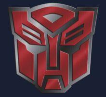 Autobot Symbol - Brushed Metal 3.0 Kids Tee