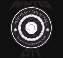 Pewter City Gym Vintage Tee Kids Tee