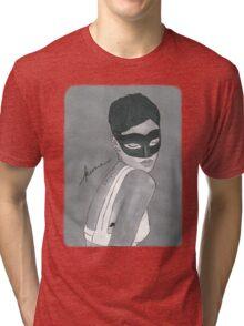 Keme - Rihanna Vogue painting Tri-blend T-Shirt