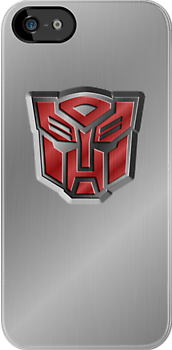 Autobot Symbol - Brushed Metal 3.2 by Jeffery Borchert