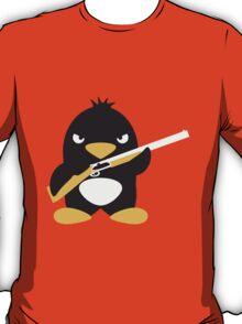 Shotgun Penguin T-Shirt
