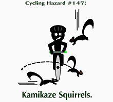 Cycling Hazards - Kamikaze Squirrels Men's Baseball ¾ T-Shirt