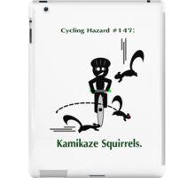 Cycling Hazards - Kamikaze Squirrels iPad Case/Skin