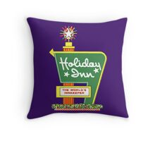 HOLIDAY INN 2 Throw Pillow
