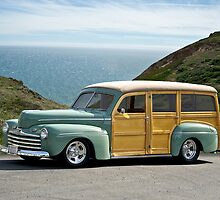 1947 Ford Woody Wagon by DaveKoontz