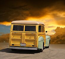1947 Ford Woody Wagon III by DaveKoontz
