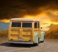 1947 Ford Woody Wagon III by DaveKoontz