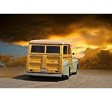1947 Ford Woody Wagon III Photographic Print