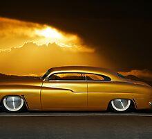 1950 Mercury Custom 24k Gold by DaveKoontz