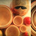 Matryoshka Diptych by Ursula Rodgers