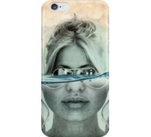 under the water line 02 iPhone Case/Skin