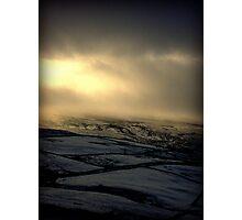 moors near Haworth Photographic Print
