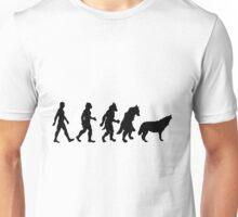 Wolf TF line (male) Unisex T-Shirt