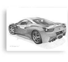 Ferrari 458 Italia Canvas Print